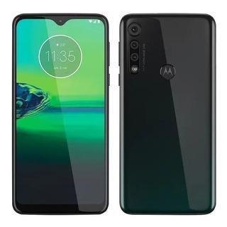 Smartphone Motorola Moto G8 Play Preto Ônix, Dual Chip, 32gb