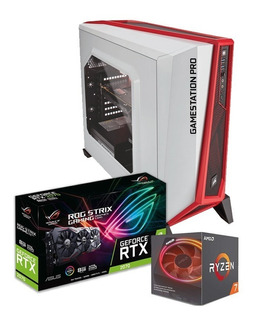 Computadora Pc Cpu Gamer Pro Ryzen 7 Rtx 2070 Super 32gb Ram