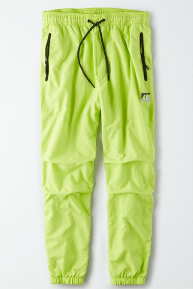Pantalon Jogging American Eagle Hombre Nylon Fluor