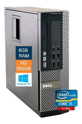 Imagem 1 de 6 de Desktop Dell Optiplex 790 Core-i5 2400 2ger 8gb Ram Hd 500gb