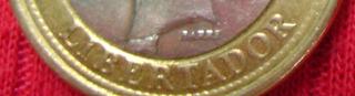 Moneda De 1 Bolivar De 2007 Con Error Bs .1.800.700._