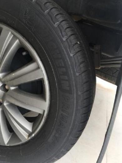 4 Pneus Amarok Michelin Primacy Suv 255/60r18