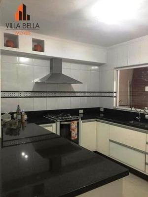 Sobrado Com 3 Dormitórios À Venda, 230 M² Por R$ 1.145.000 - Vila São Pedro - Santo André/sp - So1194
