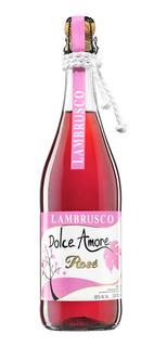 Vino Rosado Lambrusco Dolce Amore Rose De 750ml
