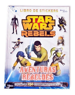 Libro Star Wars Rebels Stickers