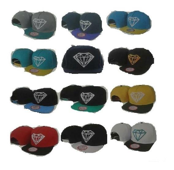 Boné Vários Modelos Snapback Diamond Supply Co. Importado