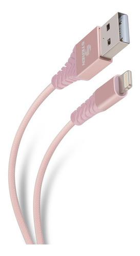 Cable Usb A Lightning De 1 M, Reforzado   |  Pod-411cros