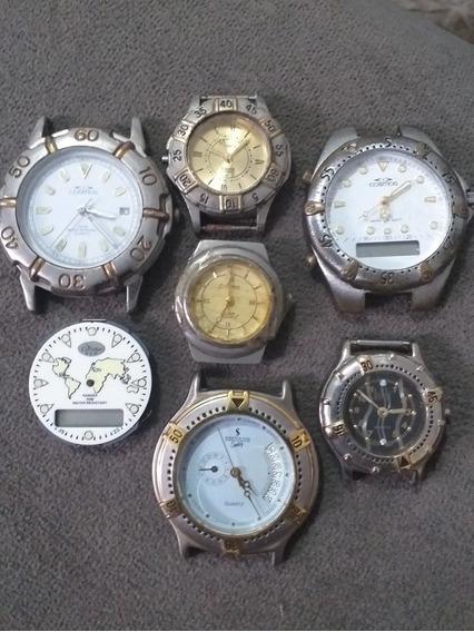 Lote De Relógios Antigos Para Conserto Cosmos Dumont Seculos