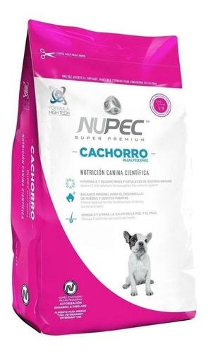 Imagen 1 de 1 de Alimento Nupec Nutrición Científica para perro cachorro de raza pequeña sabor mix en bolsa de 8kg