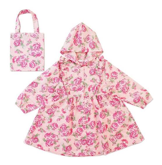 Impermeable Infantil Talla 110 Cm Mymelody Sanrio Japón