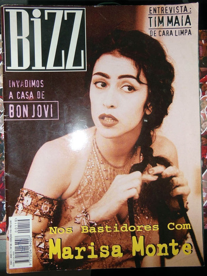 Revista Bizz 119 Junho 1995 Marisa Monte Bon Jovi Tim Maia