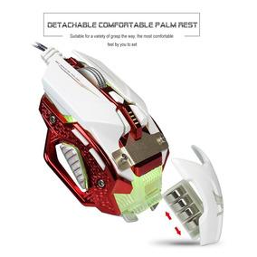 Mouse Gamer Profissional 8 Botões 4000 Dpi