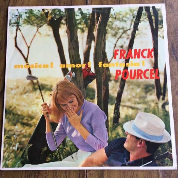 Lp Franck Pourcel Música, Amor E Fantasia 1959