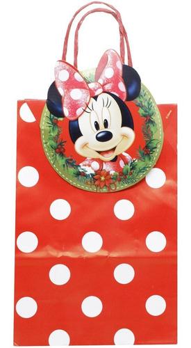 Sacolinha Para Presente De Natal E Festas  21x15 Cm Oferta