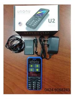 Telefono Celular Basico Unonu U2