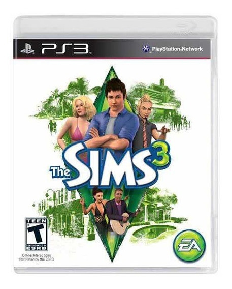 The Sims 3 Ps3 + 1 Jogo Da Sua Escolha (envio Imediato)
