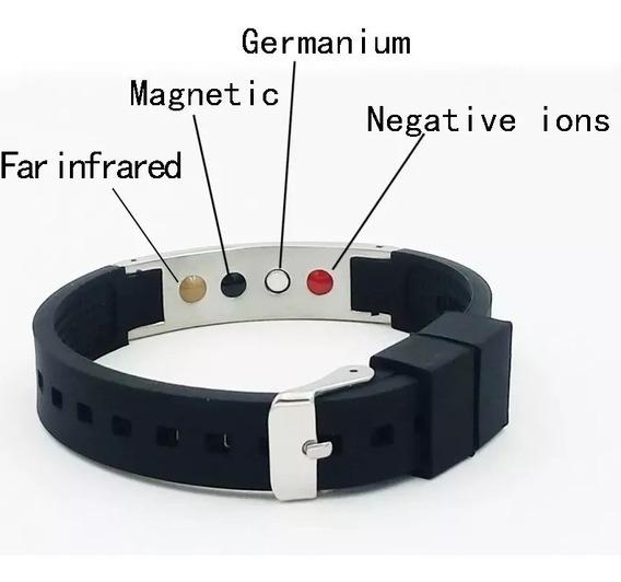 Pulseira Magnética Ion Power - Germanio - Fir - Teste Eficaz