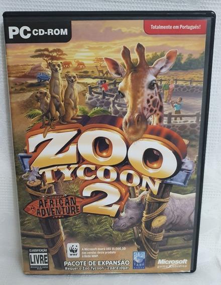 Zoo Tycoon 2 African Adventure - Mídia Física