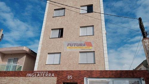 Imagem 1 de 30 de Apartamento Com 2 Dormitórios Para Alugar, 55 M² Por R$ 1.500,00/mês - Parque São Vicente - São Vicente/sp - Ap2506
