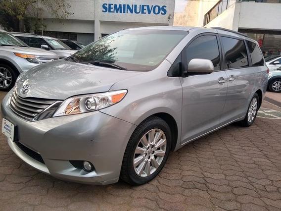 Toyota Sienna Xle 3.3l Piel 2014 Seminuevos