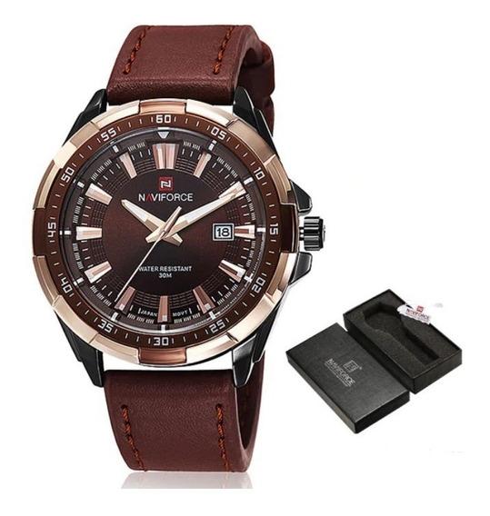 Relógio Masculino Naviforce 9056 Original Luxo Promoção Top