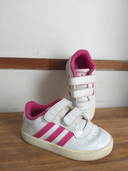 Zapatillas adidas Niña Cuero Abrojo T.23