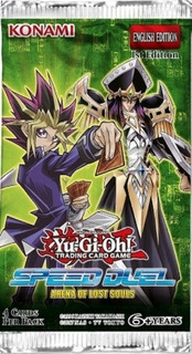 Yugioh Booster X 4 Cartas - Speed Duel: Arena Of Lost Souls