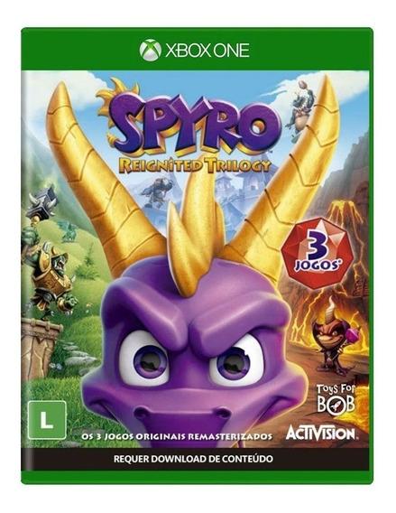 Spyro Reignited Trilogy Xbox One Mídia Física Lacrado Novo