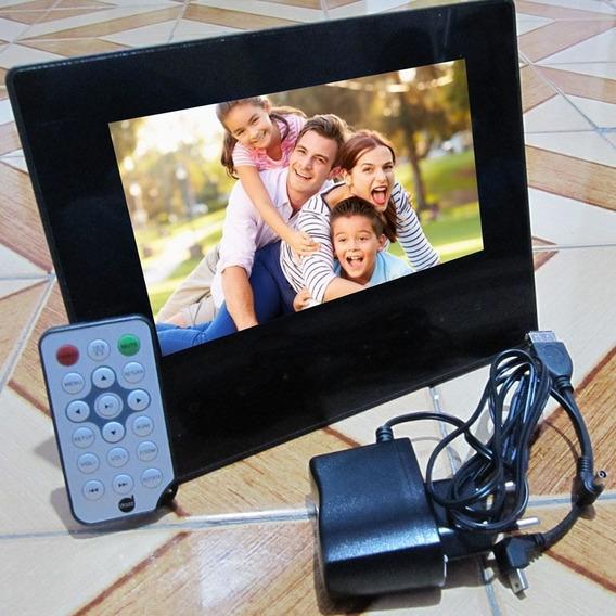 Porta Retrato Digital 7 Polegadas. Imagens Inesquecíveis Em Sua Casa Sempre Com Você.