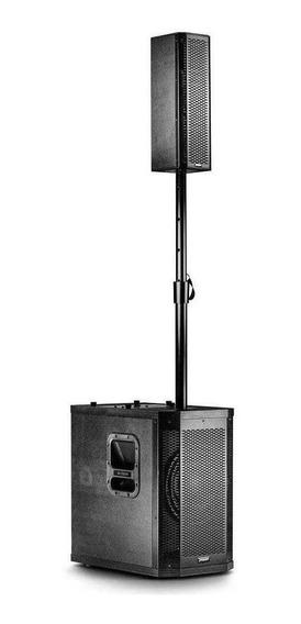Frahm Sistema Som Torre Amplificado Pa Ativo 300rms Grt10app
