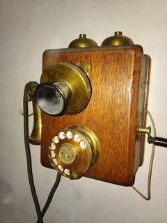 Telefono De Pared Antiguo, Funciona, Atm Liverpool