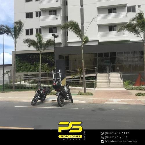 Apartamento Com 4 Dormitórios À Venda, 206 M² Por R$ 1.880.000 - Altiplano Cabo Branco - João Pessoa/pb - Ap4249