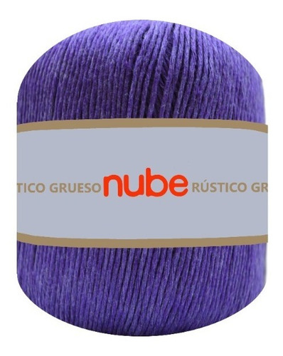 Imagen 1 de 3 de Hilado Nube Rústico Grueso X 1 Ovillo - 100 Grs. Por Color