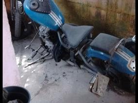 Honda Cb 450 Moto Chopper Motor D