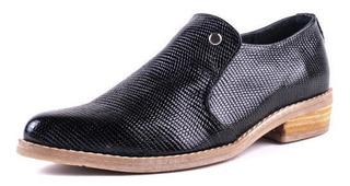 Zapato Cuero 5158 Negro