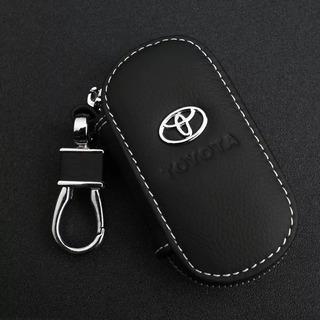 Chaveiro Toyota Couro Porta Chave Premium Corolla Hilux Rav4
