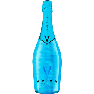 Champagne Aviva Blue Sky Efecto Glitter Envio Gratis Caba