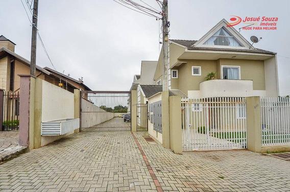 Sobrado À Venda, 125 M² Por R$ 399.900,00 - Fazenda Velha - Araucária/pr - So0932