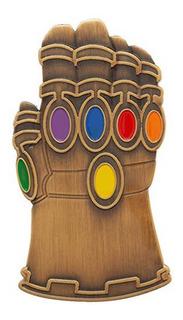 Avengers Endgame Infinity Gauntlet Pin Metálico Marvel