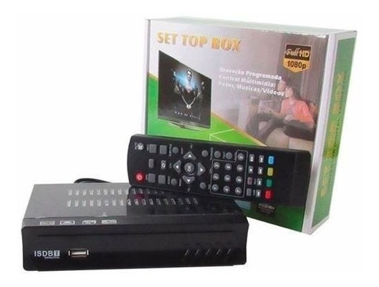 Conversor Tv Analógico Digital Full Hd Isdbt Função Gravador