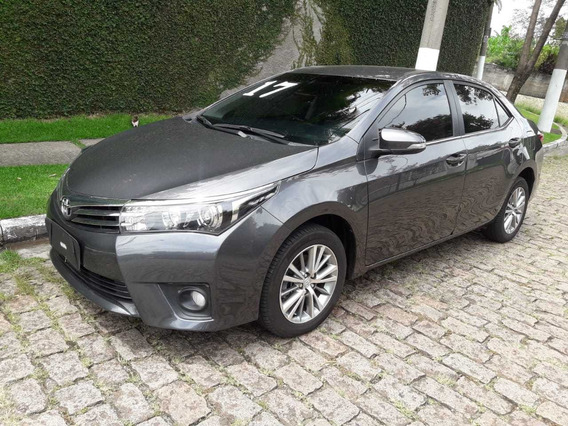 Toyota Corolla Altis Cor Cinza Metcompleto Ano 2017 51.000km