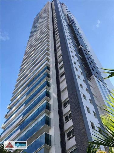Imagem 1 de 25 de Apartamento Com 4 Dormitórios À Venda, 326 M² Por R$ 4.300.000,00 - Jardim Anália Franco - São Paulo/sp - Ap6283