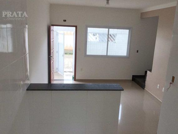V. São Jorge São Vicente Sobrado 2 Dorms S/ 1 Suíte, Área, 1 Vg - V398399