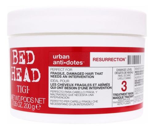Imagen 1 de 1 de Mascara Baño De Crema Resurrection Tigi Bed Head X 200 Gr