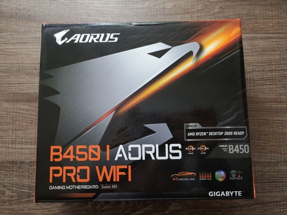 Placa Mãe B450i Aorus Pro Wifi Am4