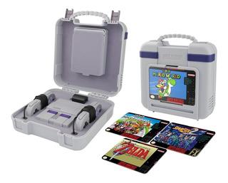 Estuche Para Snes Mini Classic Deluxe Oficial Super Nintendo