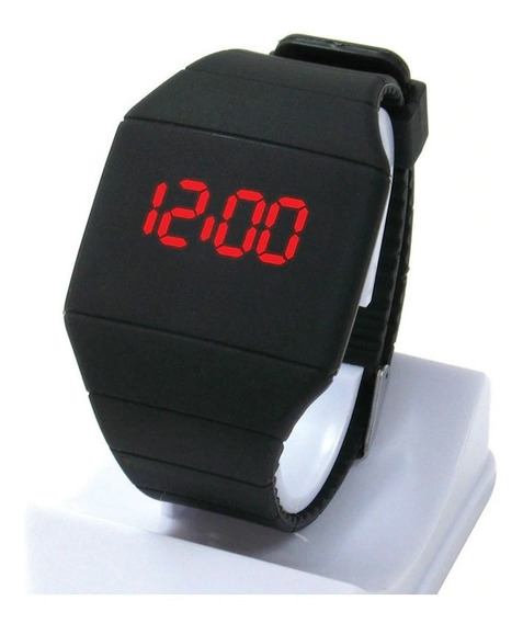Reloj Touch Led Varios Colores Caucho Ultra Slim Unixes