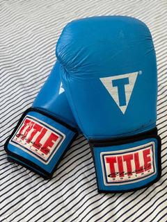 Luvas Boxe Title Boxing Muay Thai Kick 14oz
