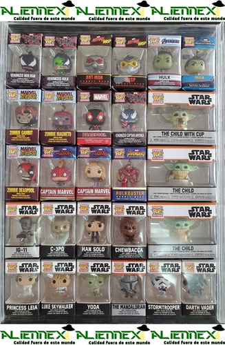 Imagen 1 de 5 de Llaveros Funko Pocket Pop 100% Originales + De 120 Modelos
