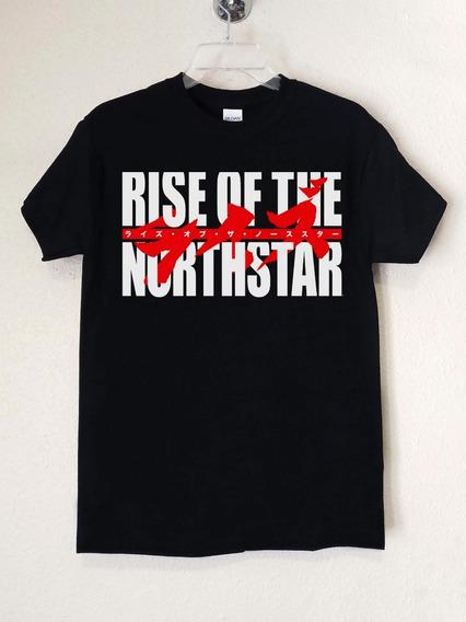 Poleras Rise Of The North Star Logo Thrash Metal Abominatron